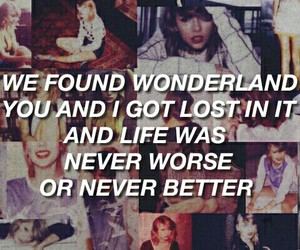 1989, polaroid, and all caps lyrics image