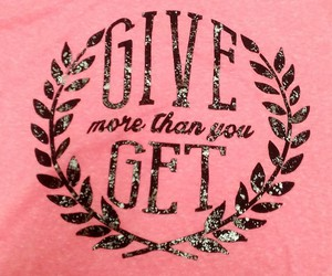 girls, pink, and tee image