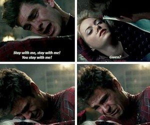 amazing, emma stone, and peter parker image