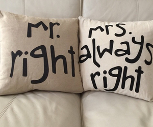 funny, pillows, and mrright image