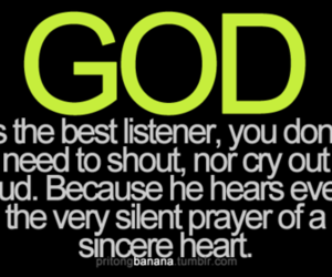 god, quote, and heart image
