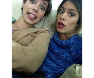 martina stoessel, macarena miguel, and violetta image