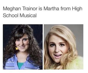 meghan trainor, high school musical, and funny image