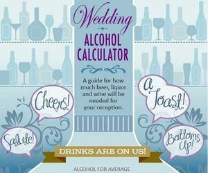 alcohol, wedding, and planning image