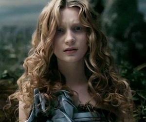 alice in wonderland and Mia Wasikowska image