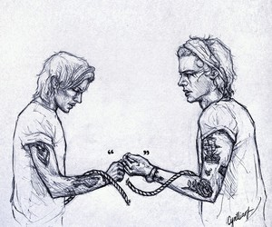 broken, fanart, and tattoes image