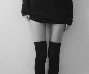 legs, black, and black and white image
