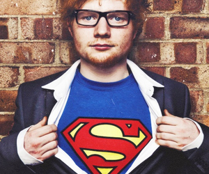 ed sheeran, superman, and ed image