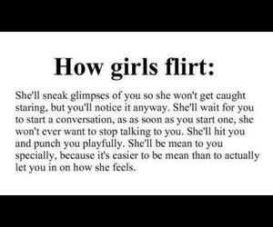 girl, love, and flirt image