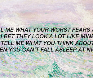 quote, fear, and art image