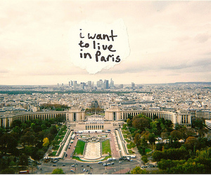 paris, city, and text image
