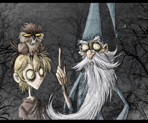 disney, tim burton, and merlin image