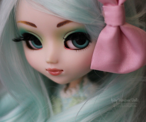 doll, green, and sweet image