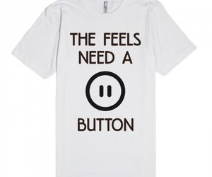 button, emotion, and feels image
