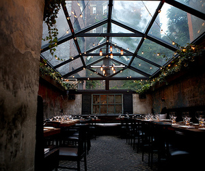 restaurant, light, and place image