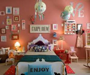 room, bedroom, and carpe diem image