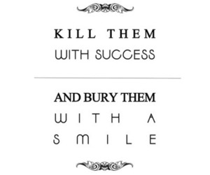 quote, smile, and success image