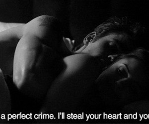 love, crime, and couple image