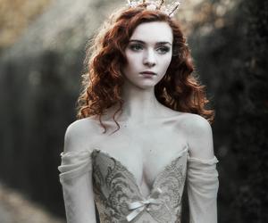 girl, princess, and red hair image