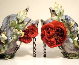 shoes, alice in wonderland, and alice image
