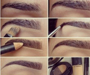 brow, dior, and mac image