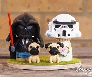 Darth Vader Stormtrooper And 2 Pugs On We Heart It