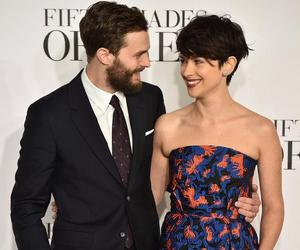 Jamie Dornan, amelia warner, and christian grey image