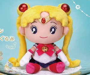 chubby, plush, and sailormoon image