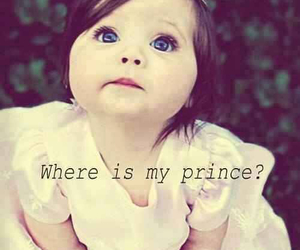 princess, cute, and prince image