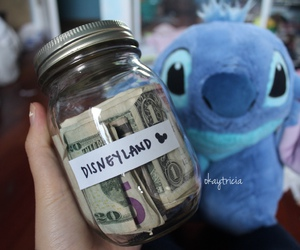 disney, money, and stitch image