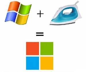 funny, lol, and windows image