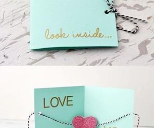 diy, love, and card image