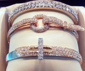 bracelets, diamonds, and jewellery image