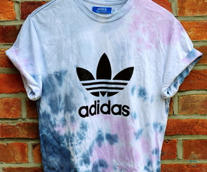 adidas, t-shirt, and blue image