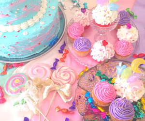 cupcake, sweet, and candy image