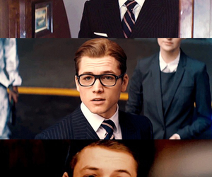 love, taron egerton, and handsome image