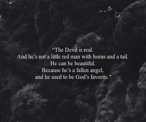 Devil, quotes, and angel image