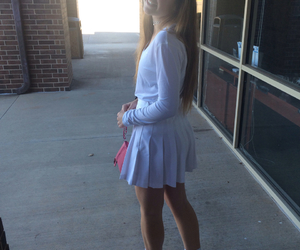 american apparel, grunge, and skirt image