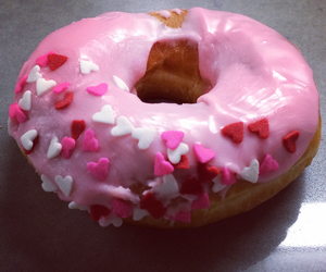 corazon, donut, and doughnut image