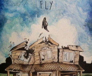 pierce the veil, drawing, and fly image