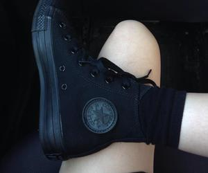 black, boots, and love image