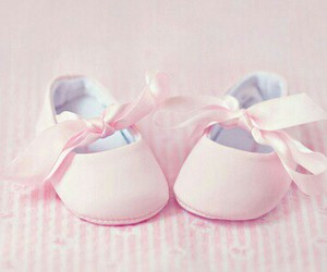 baby, girl, and pink image
