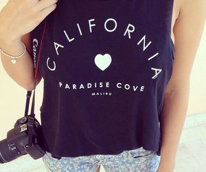 fashion, california, and summer image