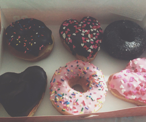 donut, donuts, and food image