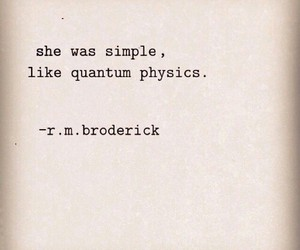 quote, simple, and physics image