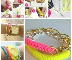 bijoux, bracelet, and diy image
