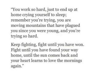 quote, sad, and motivation image
