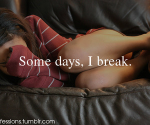 alone, breaks, and crying image