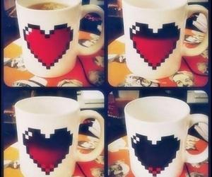 heart, mug, and cup image