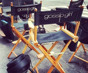 gossip girl, blair, and chair image